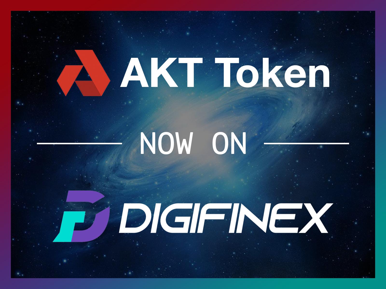 AKT Token Now On DigiFinex Exchange