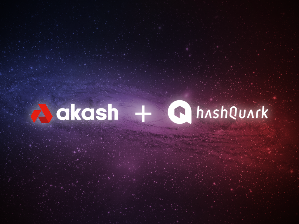 Akash Network Partners with HashQuark, the World's Largest Staking+ Service Provider | Akash Network