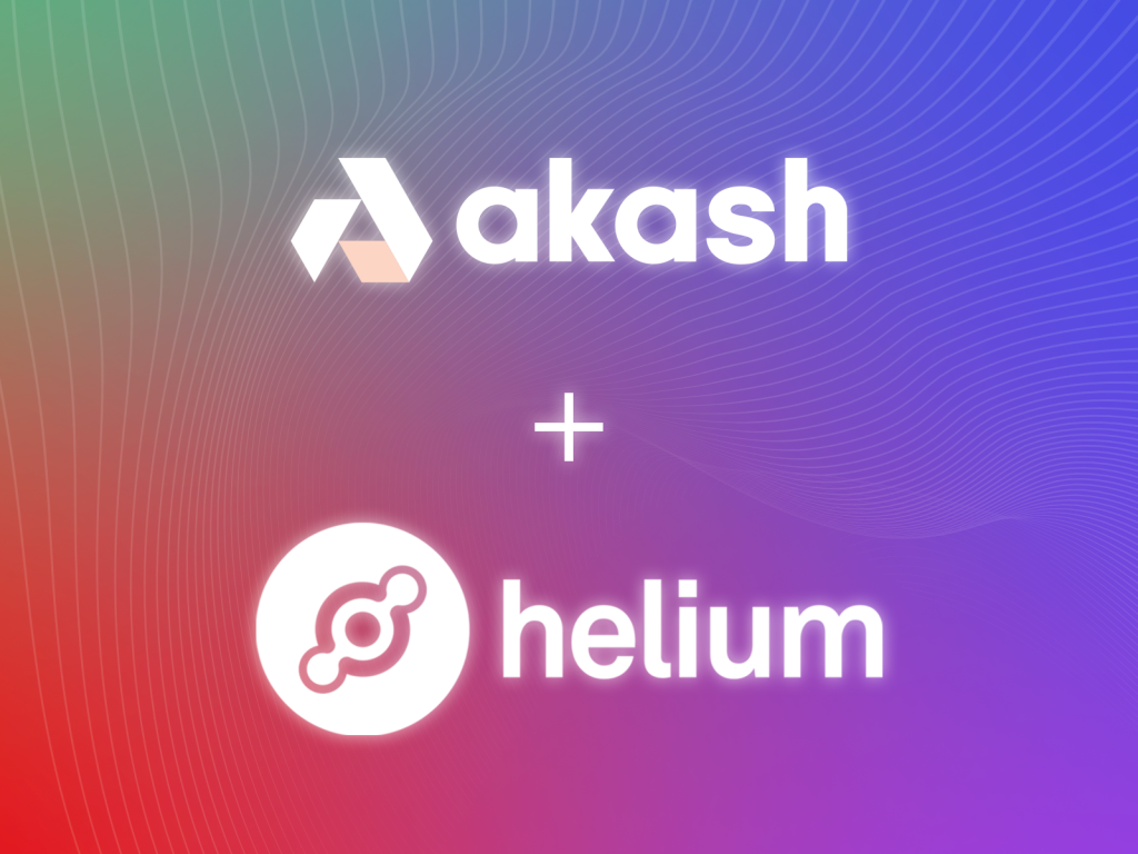 Akash Network Provides Decentralized Cloud to the Largest Internet of Things (IoT) Network, Helium | Akash Network